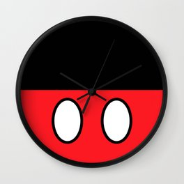 Mickey Mouse's Clothes Wall Clock