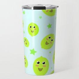 Lime Party Travel Mug