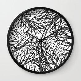 Winter Sky Wall Clock