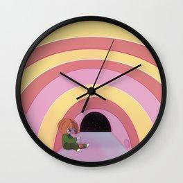 rainbow room Wall Clock