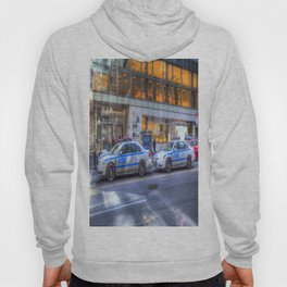 New York police Department Cars Hoody