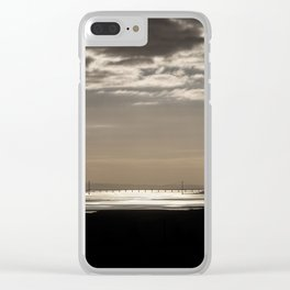 The Severn Bridges at Sunset Clear iPhone Case