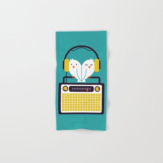 Radio Mode Love Hand & Bath Towel