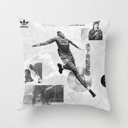 Didier Drogba Underwater Highlight Tape DVD-RW Throw Pillow