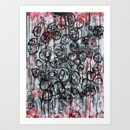 Chasing Loses Art Print