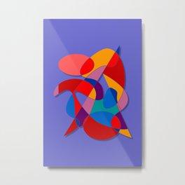 Abstract #66 Metal Print