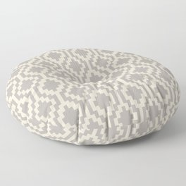 Mapuche Grey/Beige Floor Pillow