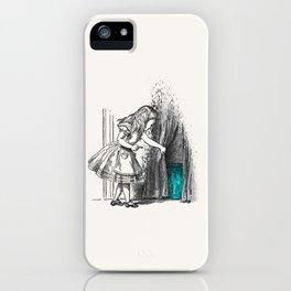 Follow The White Rabbit iPhone Case
