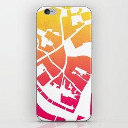 Vilnius map iPhone Skin
