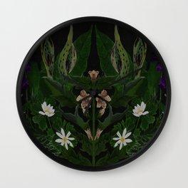 The Poison Garden - Datura Wall Clock