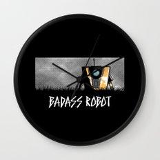 Badass Robot Wall Clock