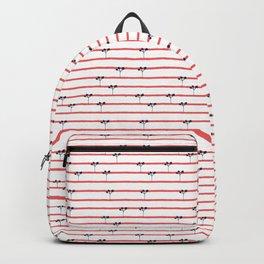 Dark Plants on Red Land Backpack