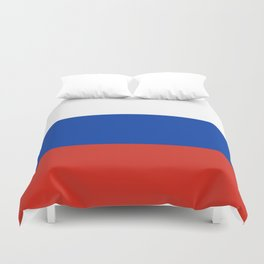 Flag of Russia Duvet Cover