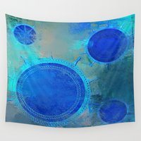 nautical Wall Tapestries featuring Nautical by JuniqueStudio