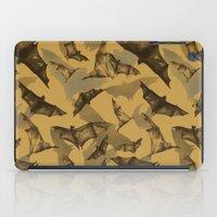 bats iPad Cases featuring Bats by Deborah Panesar Illustration