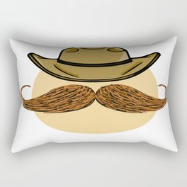 Cowboy Egg Rectangular Pillow
