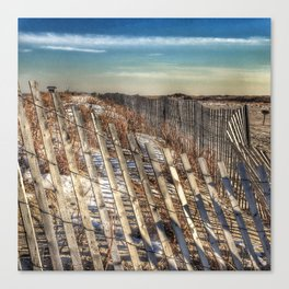 Winter Scape - Jones Beach Canvas Print