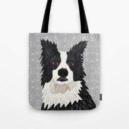 Beautiful Border Collie Tote Bag