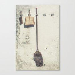 vintage garden utensils Canvas Print