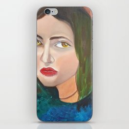 i am WOMAN iPhone Skin
