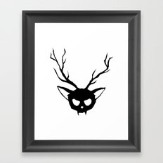 The Catalope Framed Art Print