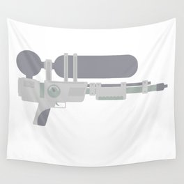 Water Gun Wall Tapestry