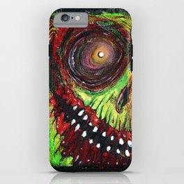Grinning Evil iPhone Case