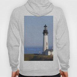 Lighthouse Newport Oregon Hoody