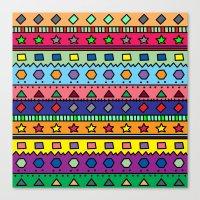 doodle Canvas Prints featuring Doodle by Kat Mun