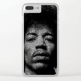 Hendrix Clear iPhone Case