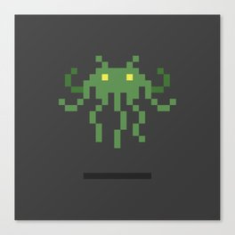 Cthulhu Invader Canvas Print