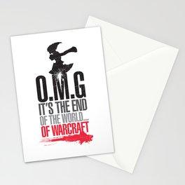 O.M.G Stationery Cards