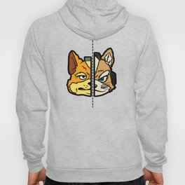 Old & New Fox McCloud Hoody