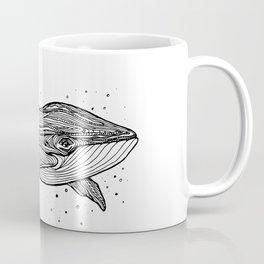 Hand draw whale Coffee Mug