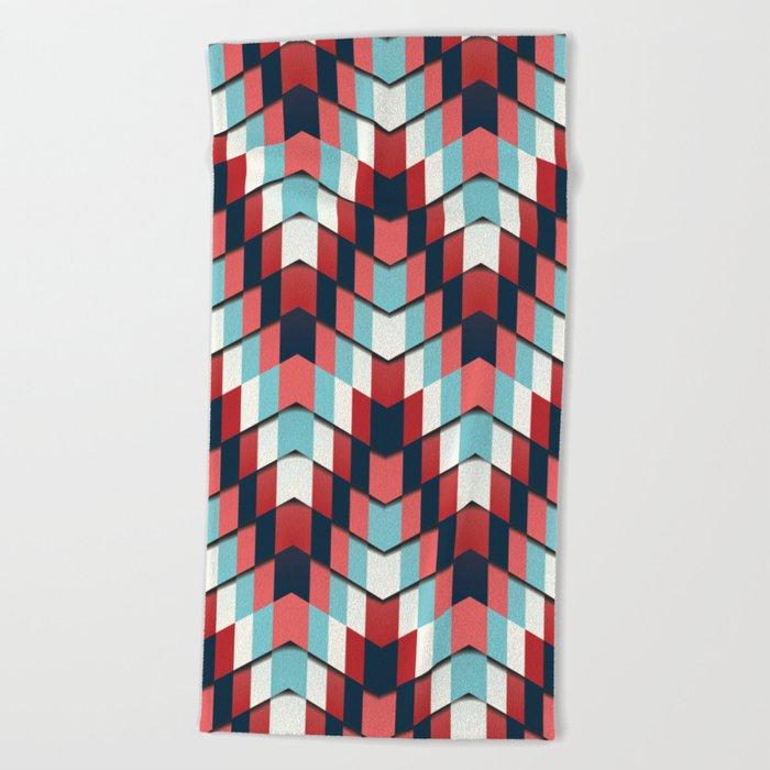 House of cards Beach Towel