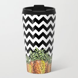 abacaxi chevron Travel Mug