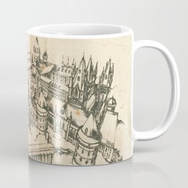 Potter school of witchcraft and wizardry HP sketch Coffee Mug