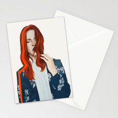 Red Line Stationery Cards