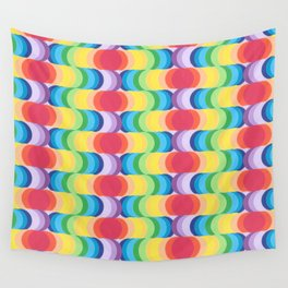 Rainbow Dragon Scales 2 Wall Tapestry