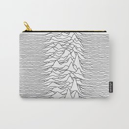 Unknown Pleasures - White Carry-All Pouch