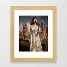 Lavinia, Titus Andronicus Framed Art Print
