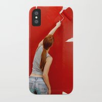 redhead iPhone & iPod Cases featuring Redhead by Twilight Productions