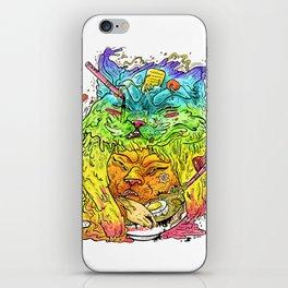 Maneki-Neko Noodles  iPhone Skin
