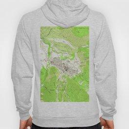 Vintage Map of Aspen Colorado (1960) Hoody