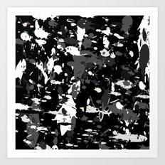 camo Art Print