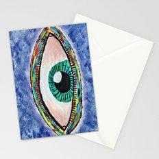 Technicolor Eye Stationery Cards