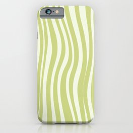 Green Psychedelic Design iPhone Case