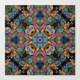 Kaleidoscope of Bubbles  Canvas Print