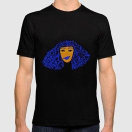 Blue Hair Chick Apparel T-shirt