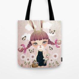 Sugar Bunny Tote Bag